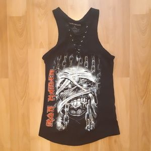 Iron Maiden Band Tank T shirt